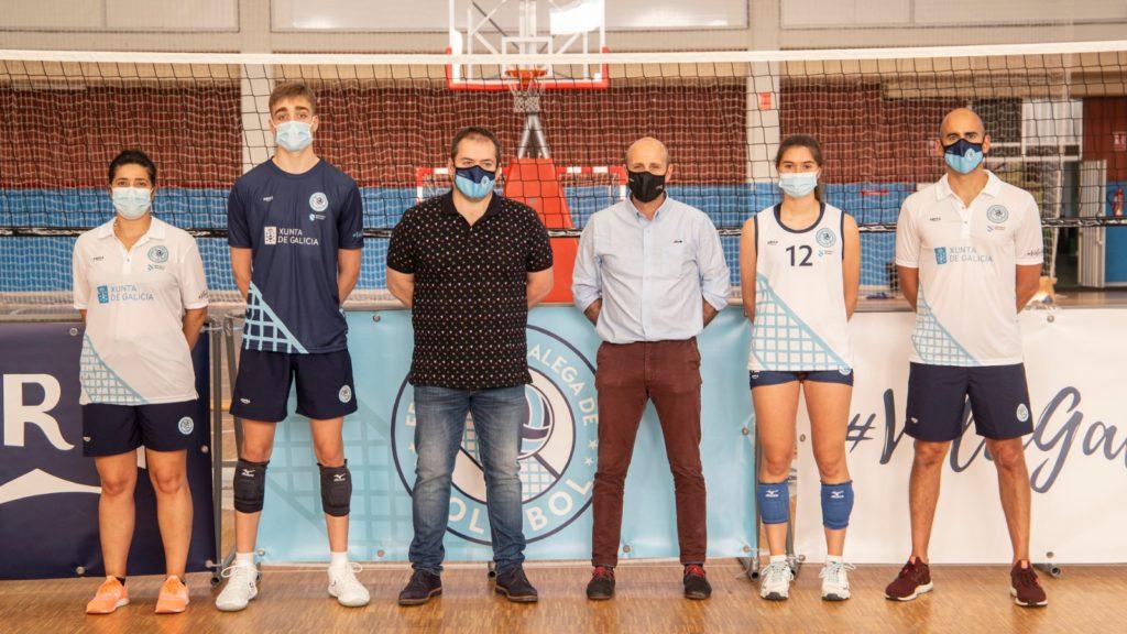 La Federación Galega de Voleibol apuesta por Amura Sport